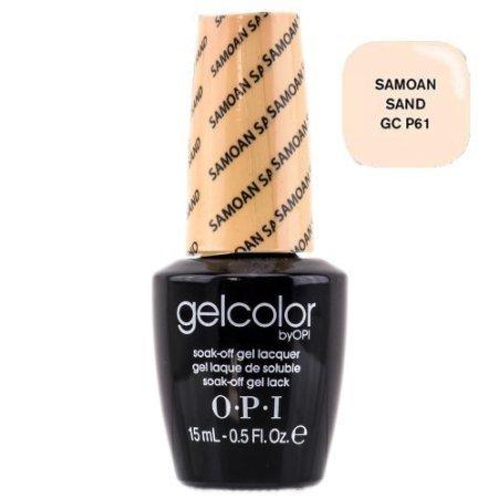OPI Gelcolor Nail Polish, GCP61 Samoan Sand, 0.5 Fluid Ounce