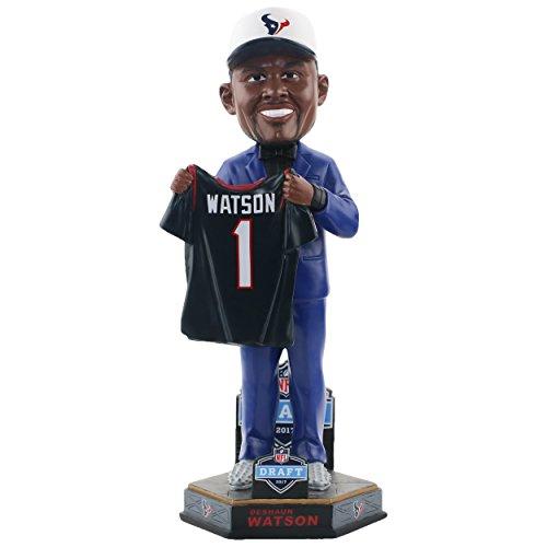 Forever Collectibles Deshaun Watson Houston Texans 2017 NFL Draft Day Bobblehead NFL (Head Houston Texans Bobble)
