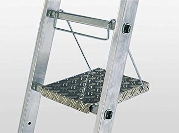 Sprossenabmessung 30x30 mm HYMER 005411 Einh/ängetritt f/ür Sprossenleitern