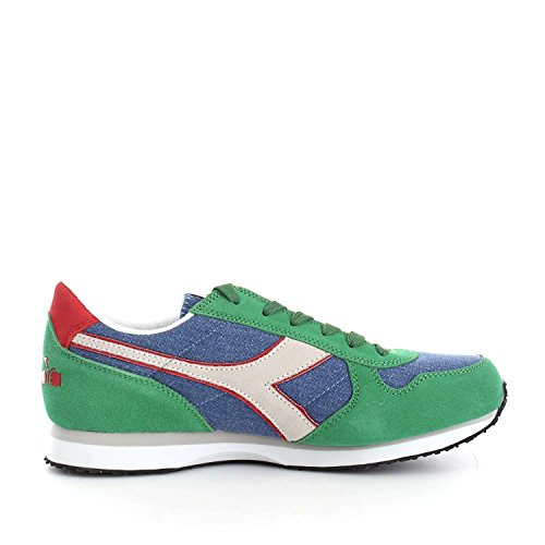 juniper Basses run K Mixte Dark C Diadora Blue Ii Sneaker Adulte qvHT7