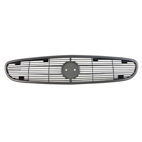 Buick Regal Grille Assembly - CarPartsDepot 4D Front Grille Grill Dark Gray Plastic Assembly GM1200407 10287933