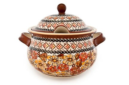 Polish Pottery Autumn Rose Soup ()