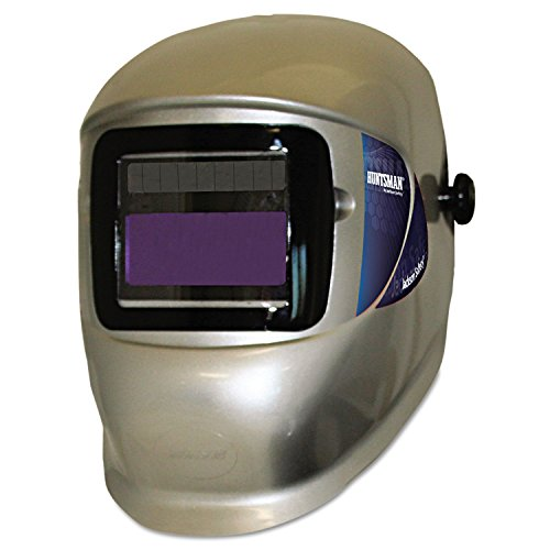 Elements Helmet (Element Solar-Powered Variable Adf Welding Helmet, Silver)