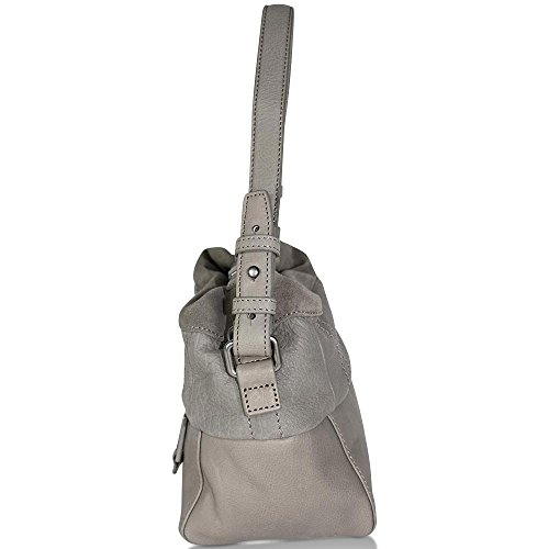 O'polo 35 Hellgrau Leather Grau Bag Cm Shoulder Marc Sixteen dnwSqIX