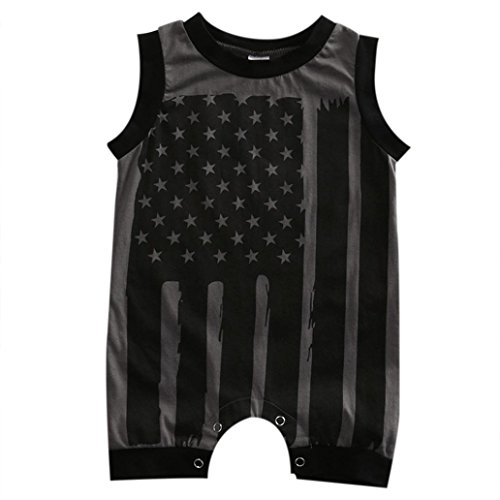 Baby Clothes Outfits, TRENDINAO Newborn Infant Baby Boy Girl 4th Of July Stars and Stripes Romper