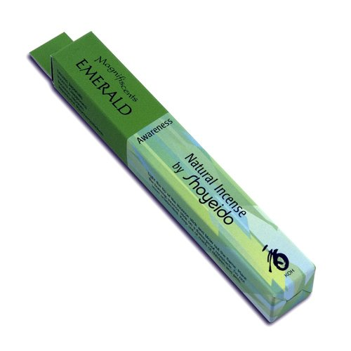 Shoyeido's Emerald Incense, 30 sticks