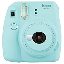 Fujifilm Instax Mini 9 Instant Camera - Ice Blue (Renewed)