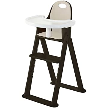 Svan Baby To Booster Bentwood High Chair - Espresso/Almond Cushion