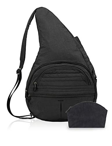 AmeriBag, Inc. HB2 Healthy Back Baby Bag Tote Backpack Black ()