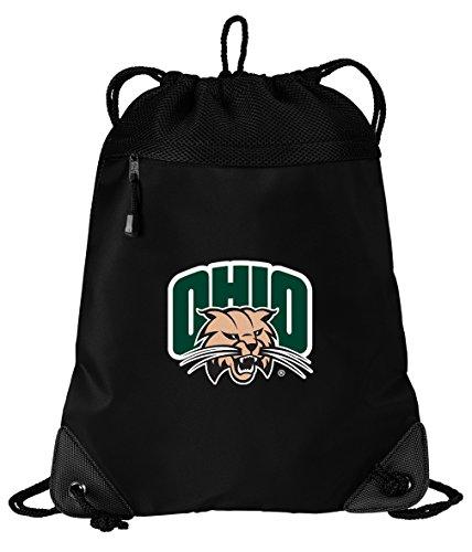 Broad Bay Ohio Bobcats Drawstring Bag Ohio University Cinch Pack Backpack UNIQUE MESH & MICROFIBER by Broad Bay