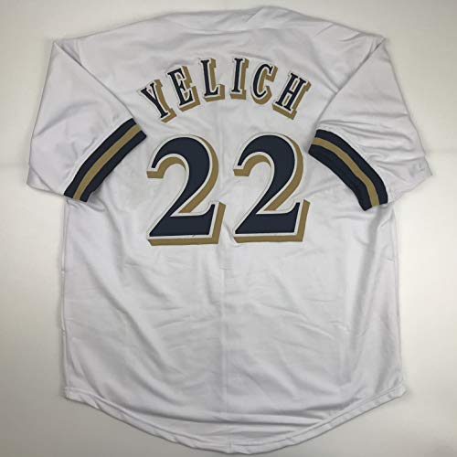 Unsigned Christian Yelich Milwaukee White Custom Stitched Baseball Jersey Size Men's XL New No Brands/Logos ()