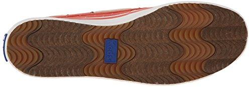 Keds Baybird Slip-on Chaussure De Bateau Swiss Dot Corail