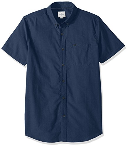 Rip Curl Mens Ourtime S S Shirt  Navy  M