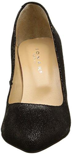 JONAK Aleen, Zapatos de Baile Salón para Mujer Negro