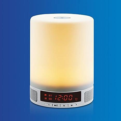 EXTRASTAR-Altavaoz con luz LED Altavoz Bluetooth Inalámbrica Magic Box Bluetooth Altavoz Bluetooth Portátil con