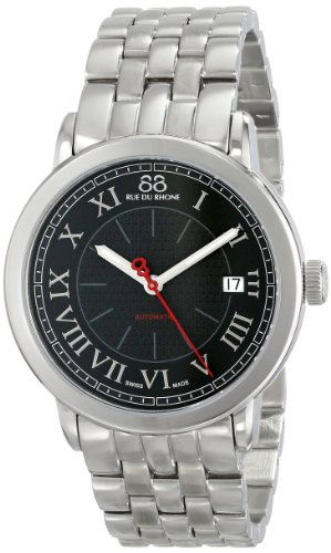 88-Rue-du-Rhone-Mens-87WA120034-Analog-Display-Swiss-Automatic-Black-Watch