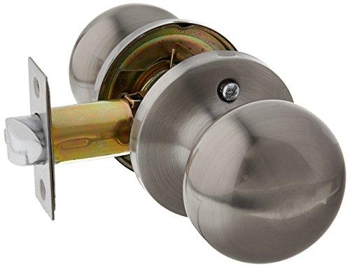Milocks xfk 02sn digital deadbolt door lock and passage - Exterior door knob with deadbolt ...