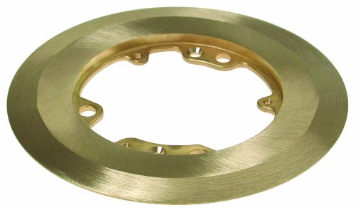 Hubbell-Raco 6235 6-1/4-Inch Round Brass Carpet Flange by Hubbell Raco
