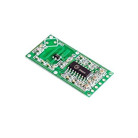 Newgrees RCWL-0516 Detector de movimiento radar Doppler sensor de microondas Módulo para Arduino: Amazon.es: Coche y moto