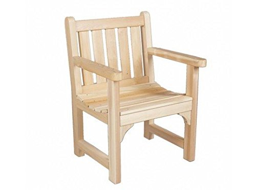 Rustic Natural Cedar Furniture 0500504 English Garden Chair