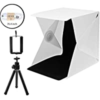 Portable Photo Studio 9.6 inch Photography Light Box Foldable Shooting Tent 2 Colors Background Photo Box