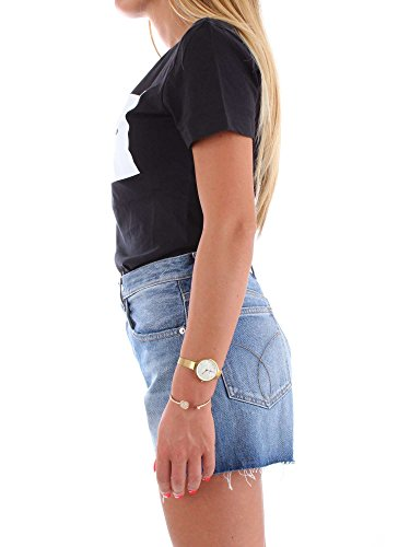 Mc J20j207948 Klein shirt T Black Donna Calvin qOS4wxFF