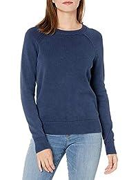 Amazon Brand - Goodthreads Women's Mineral Wash Crewneck Sweatshirt Sweater
