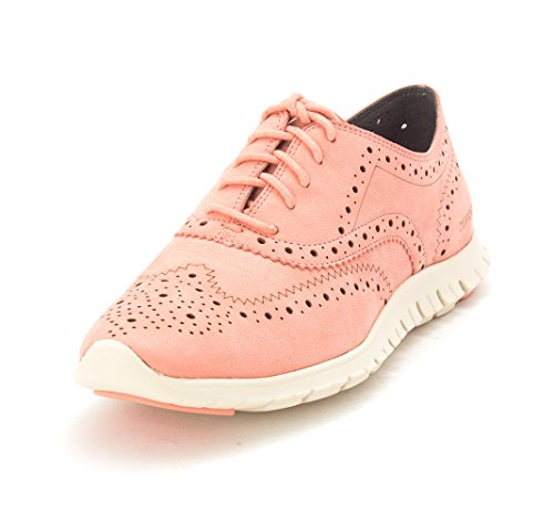 Cole Lace Sneakers up Low Collettasam Fashion Womens Coral Top Haan RqwrXR