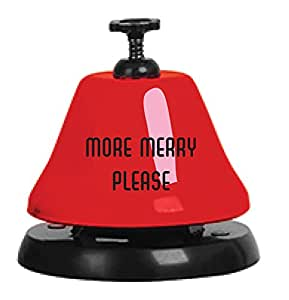 Slant More Merry Please Bar Top Bell