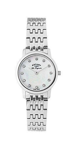Rotary Lb90016-07 Women's Les Originales Stainless Steel Mother Of Pearl Dial Ss Watch (Pearl Dial Ss)