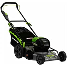 """Earthwise 65821 Cordless Electric Lawn Mower, 21"""", 58v"""