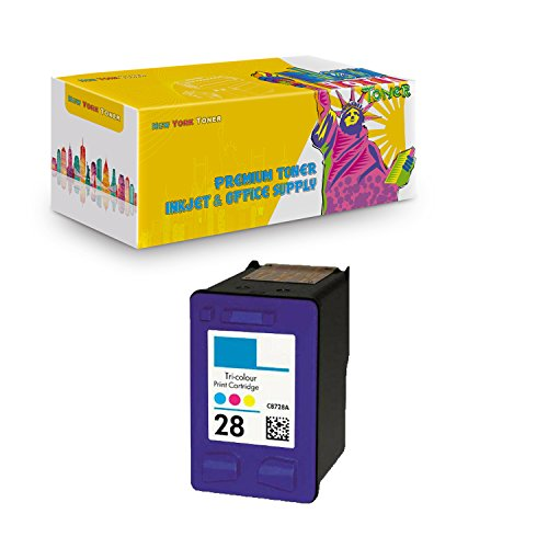 New York TonerTM New Compatible 1 Pack HP C8728A (HP 28) High Yield Inkjet For HP : 1315xi . -- Color - C8728a Colour