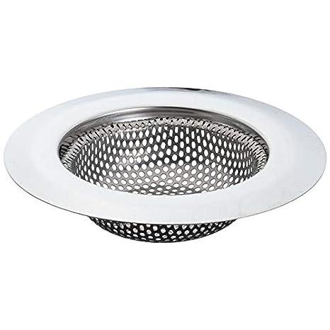 Stainless Steel Sink Strainer Shower Floor Drain Bathroom Hair Catcher Kitchen