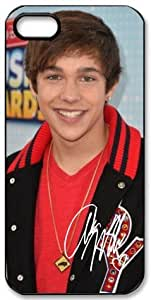 Austin Mahone Signed HD image case cover for iphone 5 black A Nice Present by runtopwell