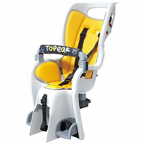 Topeak TOPK BABYSEAT II ONLY BabySeat II, Babyseat only, Without Rack, Yellow Color seat pad