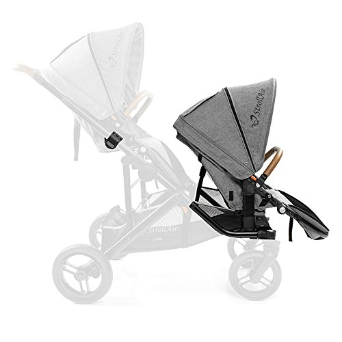 StrollAir TANGO seat - coverts single stroller SOLO to Double TANDEM