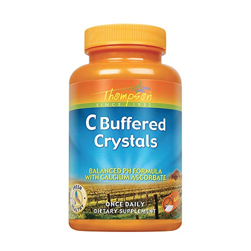 Thompson C Crystals, Buffered Powder, 3000 Mg, 4 Ounce (Pack of 2)