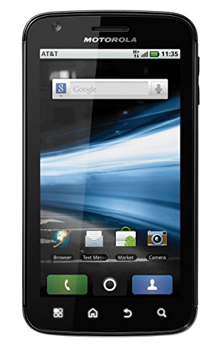 Motorola Atrix MB860 4G Unlocked Dual Core Phone with Android Gingerbread 2.3 OS and 5MP Camera ()