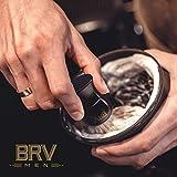 BRV MEN Shaving Brush - Pure Badger Hair - Badger