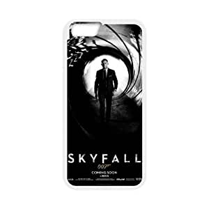 iphone6 4.7 inch case , 007 James Bond iphone6 4.7 inch Cell phone case White-YYTFG-16747