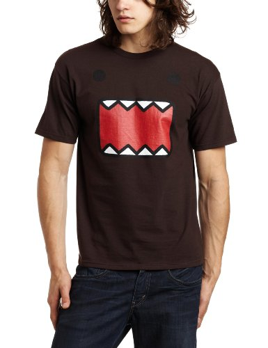 Domo Kun: Domo Face Short-Sleeve T-Shirt, Chocolate, XX-Large