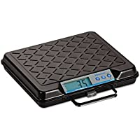 Portable Electronic Utility Bench Scale, 250lb Capacity, 12 x 10 Platform, Sold as 1 Each