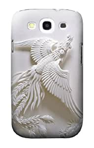 S0516 Phoenix Carving Graphic Printed Case Cover For Samsung Galaxy S3