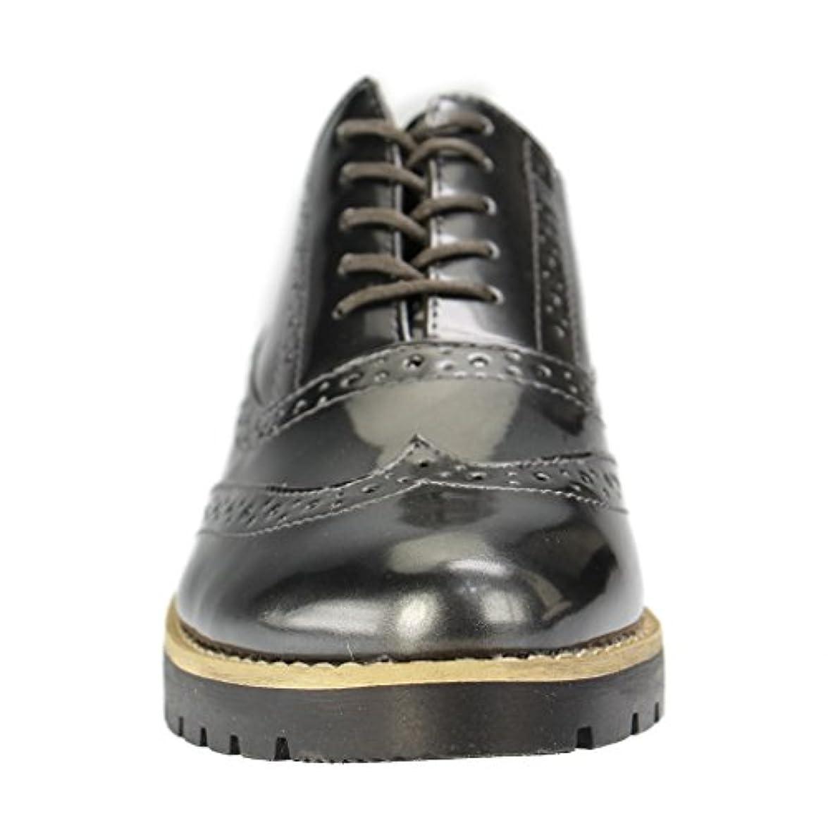Fitters Scarpe Donna Footwear Grigio Stringate
