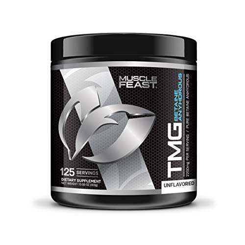 Pure Betaine Anhydrous Trimethylglycine (TMG) Powder by Muscle Feast (300 ()