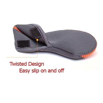Elixir Golf Unisex Iron Head Covers (10-Piece), Black/Red
