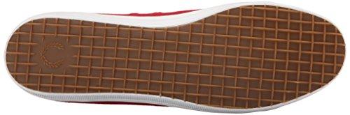 Kingston Blood Fred Perry Twill Fashion Sneaker Men's White qRYEwrAYW