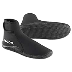 Ranging from warm to cold water conditions, Dacor offers a wide array of boots for your diving adventure. With ergonomic soles, that add to your comfort and keep your feet warmer, soft to hard sole and quality materials and components, the Da...