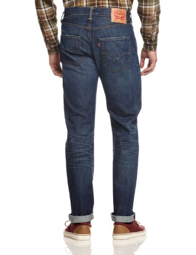 Uomo Blues Levi's basic 501 1618 Jeans Blu Straight Original wngICqp