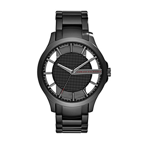 Armani Exchange Men's Black IP Plated Stainless Steel Watch ()